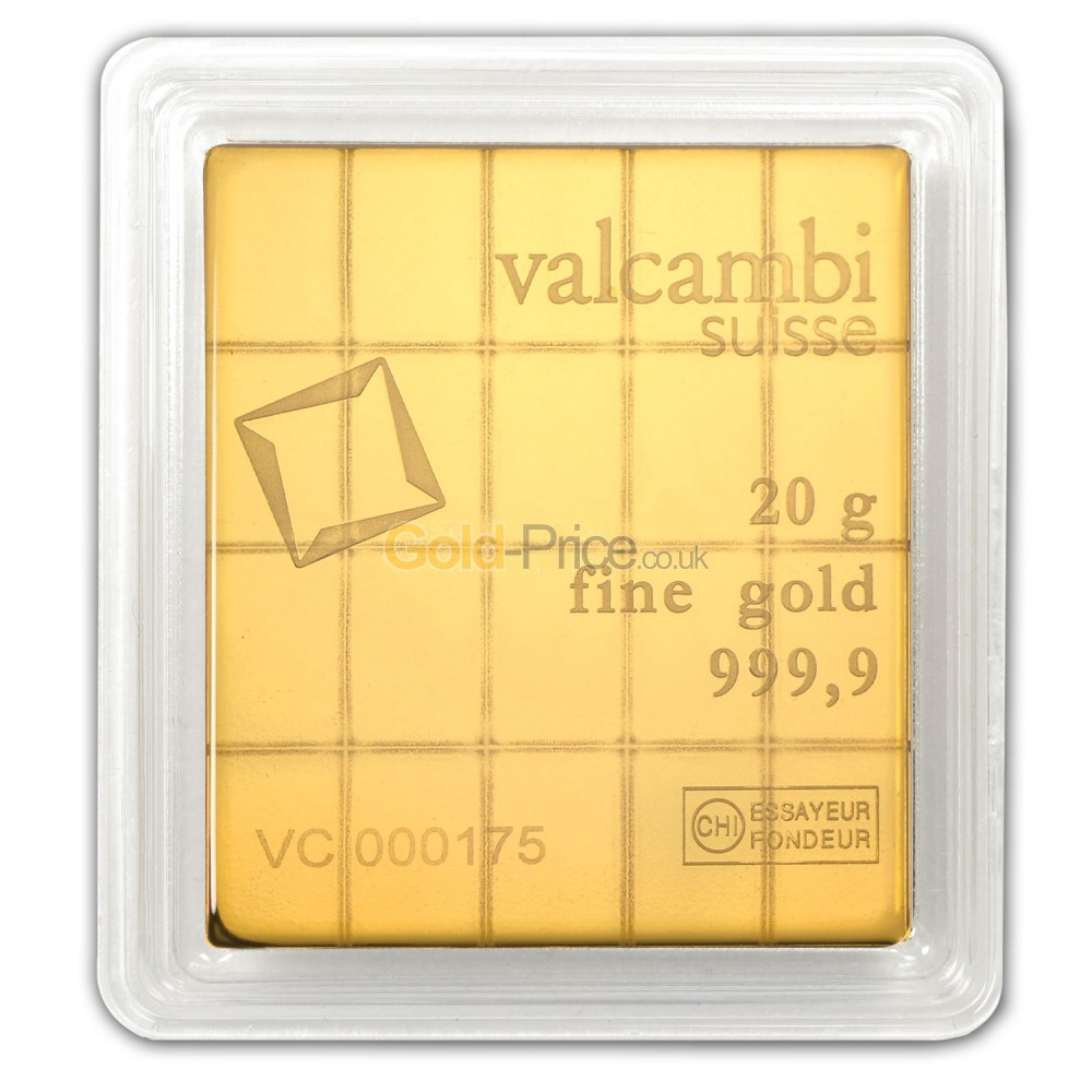 SchiffGold.com | Valcambi Combibar