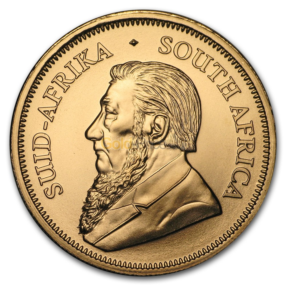 Coin Chart: Krugerrand At Spot Price