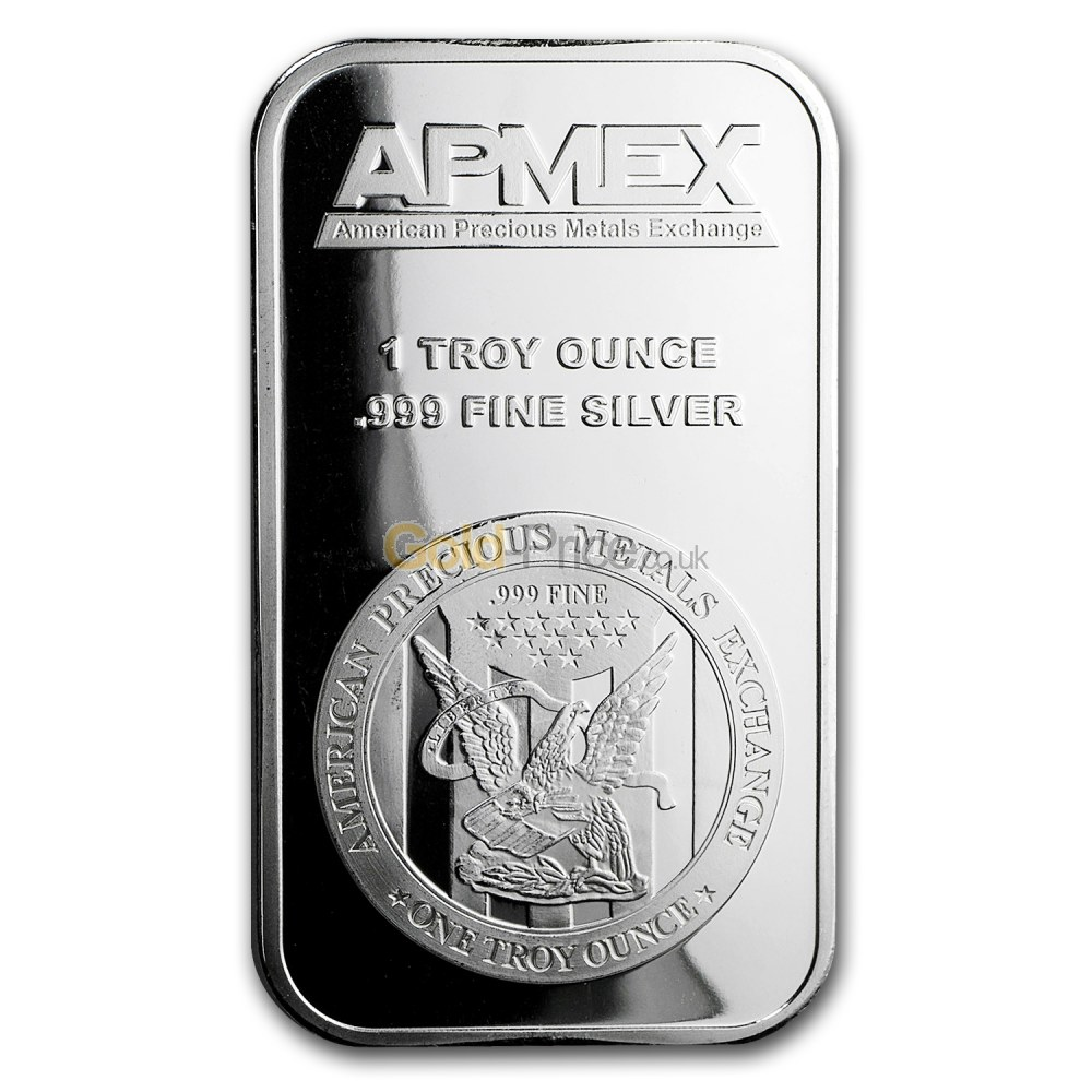 Silver Bar Price Comparison Buy 1 Ounce Silver