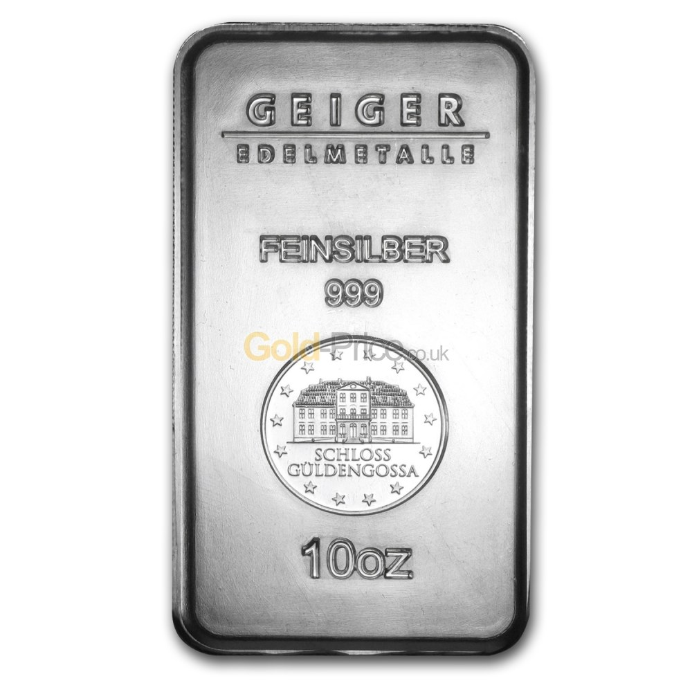 10 Oz Silver Bar At Spot Price