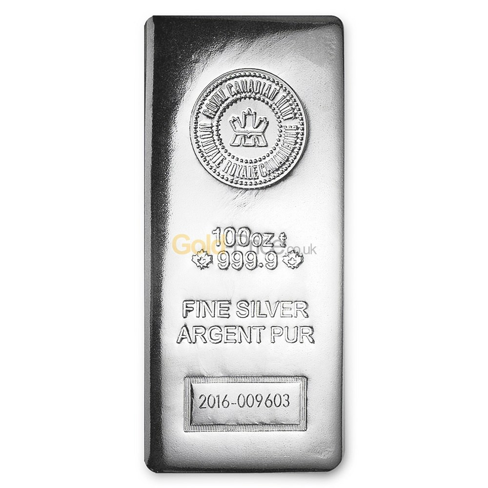 Silver Bar Price Comparison Buy 100 Ounces Silver