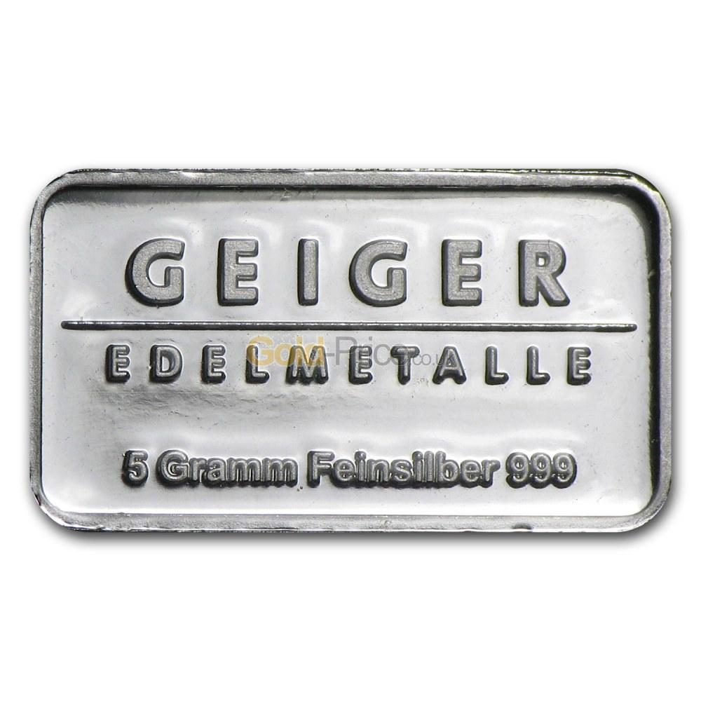 Silver Bar Price Comparison Buy 5 Grams Silver
