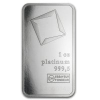 Platinum 1 oz Platinum bar