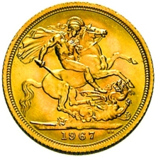 Gold 1 Pound Sovereign